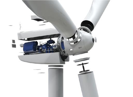 三一重工SE156504.X 中高风速风力发电机组
