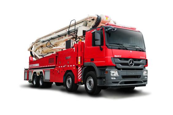 三一重工SYM5410JXFJP4848米举高喷射消防车