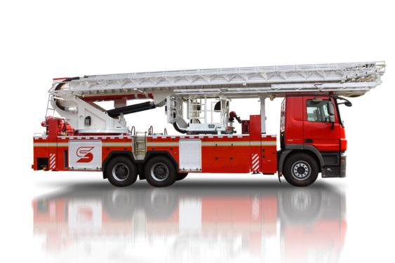 三一重工SYM5341JXFDG5555米登高平台消防车