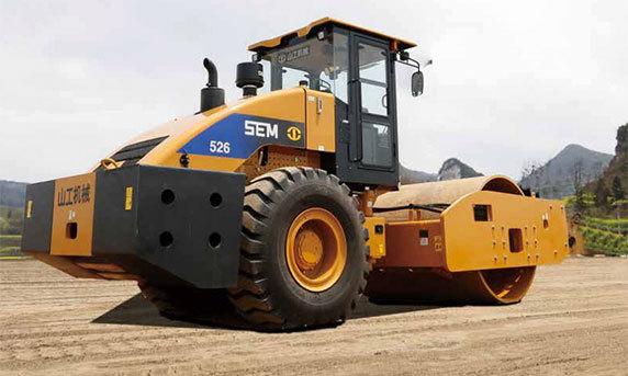 山工机械SEM526单钢轮压路机