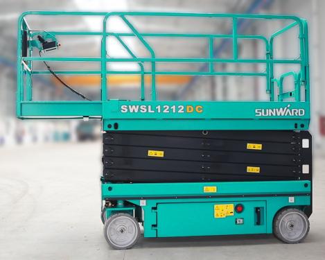 山河智能SWSL1212DC电动剪叉式高空作业平台