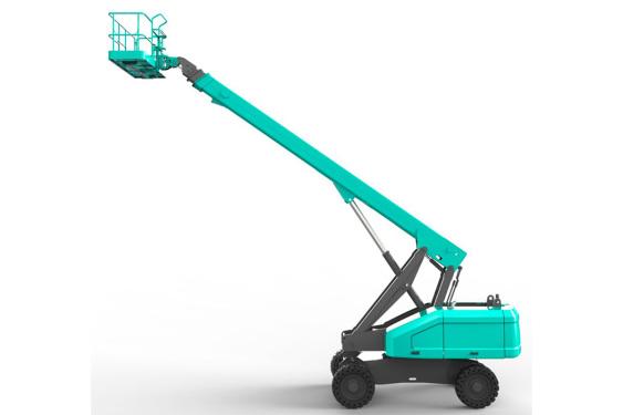 山河智能SWT22J自行走直臂式高空作业平台