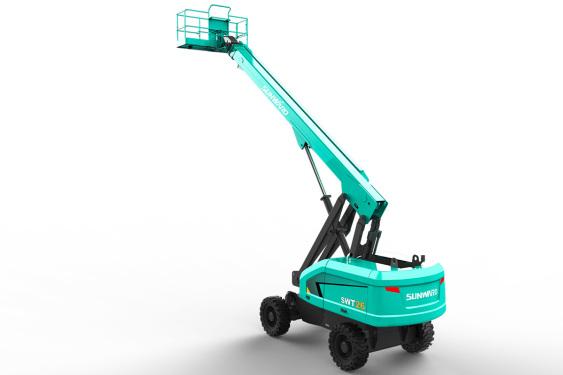 山河智能SWT28J自行走直臂式高空作业平台