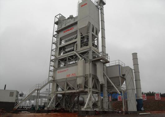 中交西筑JD4000沥青混合料搅拌设备