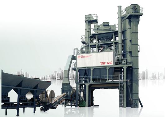 中交西筑JD1000沥青混合料搅拌设备