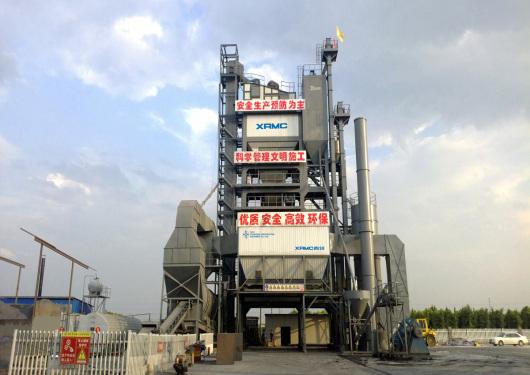 中交西筑JD5000沥青混合料搅拌设备