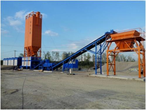 镇江阿伦WBS800V振动搅拌(强制+振动)稳定土厂拌设备