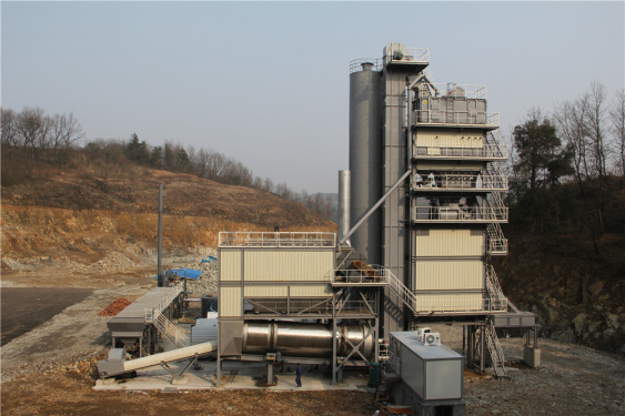 泉成机械QC-2000固定式沥青搅拌设备