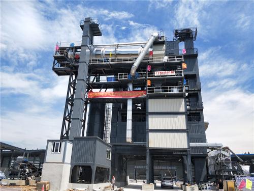 泉成机械QCR2000沥青厂拌热再生设备(可配套原生3000、4000)