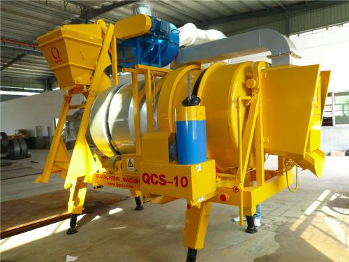 泉成机械QCS-10移动双滚筒