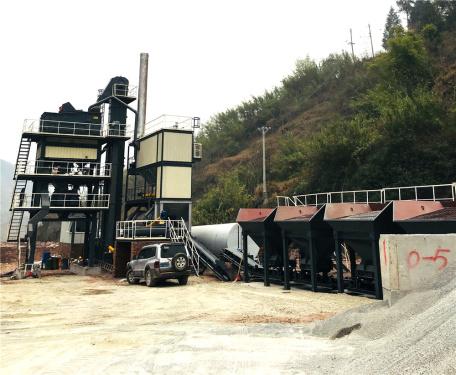 泉成机械QC-1200固定式沥青搅拌设备