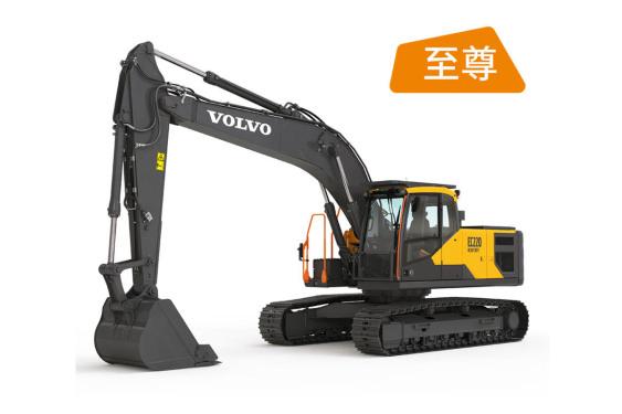 沃尔沃EC220 HEAVY DUTY至尊系列 全新挖掘机