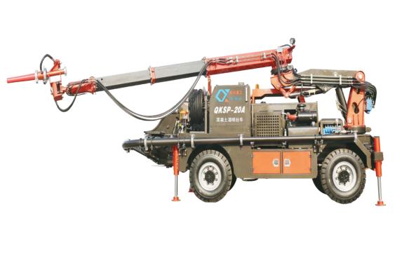 青科重工QKSP-20A湿喷台车