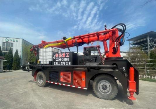 青科重工QZHP-3016E混凝土湿喷台车