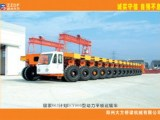 大方DCY900轮胎式运梁车高清图 - 外观