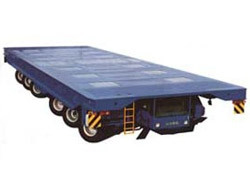 大方DCY250型动力平板运输车