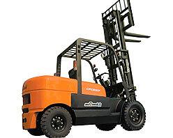 威肯5吨液力内燃平衡重式叉车