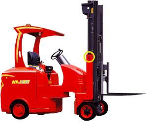 台励福NA2.0窄道式电动叉车